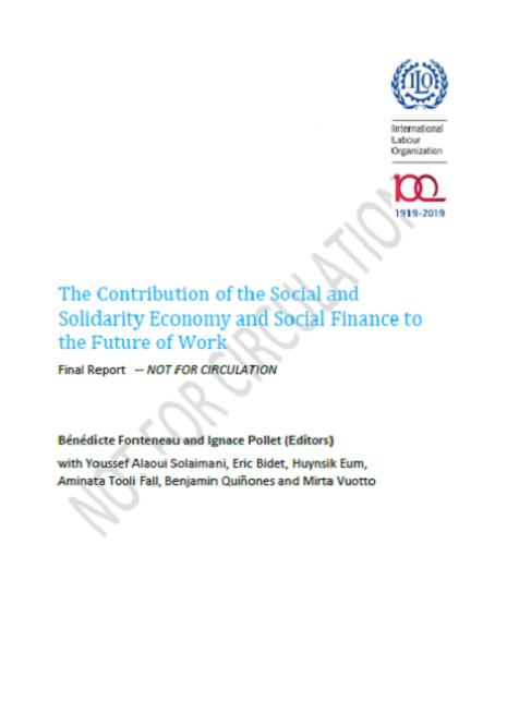 Rapport ILO future of work