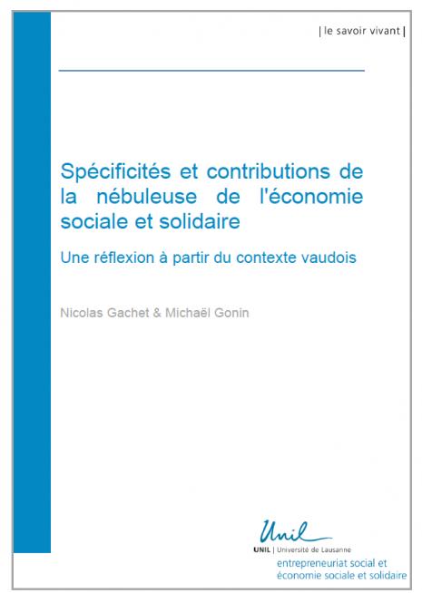 Sp cificit s et contributions de la n buleuse de l - Chambre de l economie sociale et solidaire ...